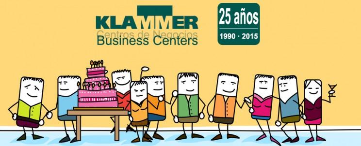 Klammer Business Centers 25 años